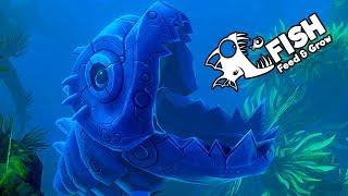 Feed and Grow Fish Gameplay German - Giga Robo Fisch und Knochen Fisch