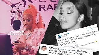 VIDEO: Nicki Minaj EXPOSES Cardi B with RECEIPTS! Queen Radio Ep 8