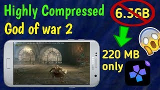 1GB]Download Highly CompressedGod of war 2 for Android || For Damon