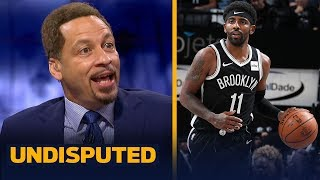 Chris Broussard reacts to Kyrie Irving dropping 50 in Brooklyn Nets debut | NBA | UNDISPUTED