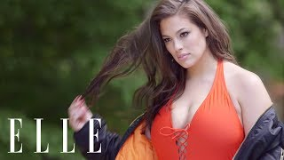 Ashley Graham on How to Find The Perfect Swimsuit   ELLE