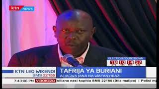 Wafanyakazi wa Standard Group wajumuika kwenye tafrija ya kumuaga Sam Shollei aliyekuwa afisaa mkuu