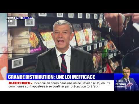 Grande distribution : une loi inefficace Grande distribution : une loi inefficace