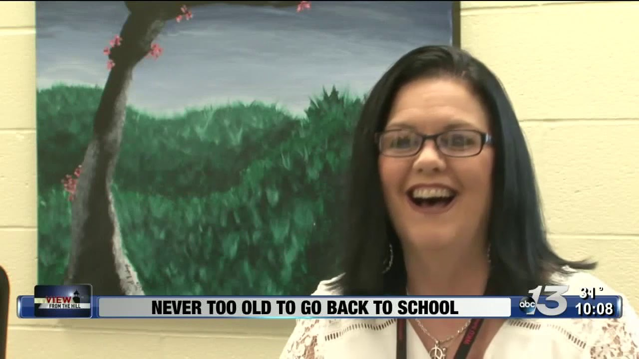 View from the Hill - 51-year-old student teacher finishing degree Video Preview