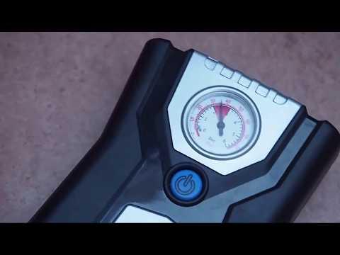 P.I. Auto Store - Bomba compresor aire - Manometro analogico con Bar y PSI