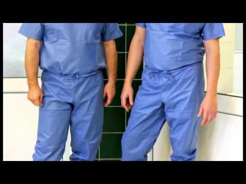 Подготовка кожи перед операцией