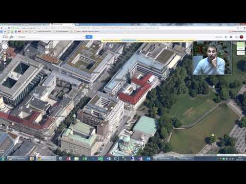 Trick: Google Maps Luftaufnahmen Vogelperspektive deiner Stadt 3D