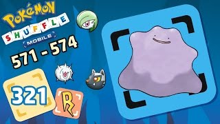 Pokémon Shuffle Mobile - Ditto, Silcoon y me quiero morir [571 - 574]