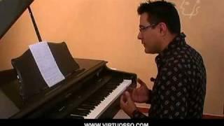 escalas del blues, piano blues