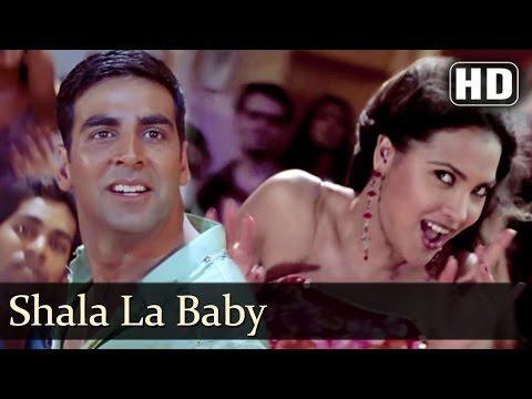 Shala La Baby | Andaaz Songs | Akshay Kumar | Lara Dutta | Alka Yagnik | Party Song | Filmigaane