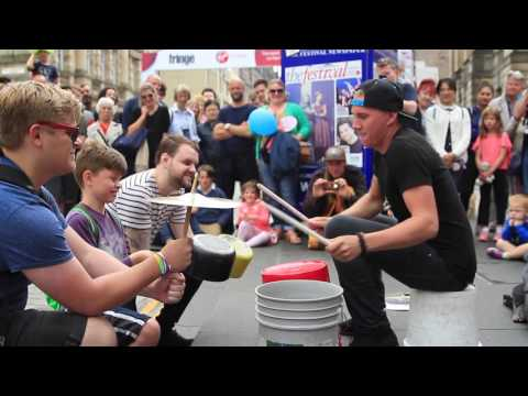 The Bucket Boy (Matthew Pretty) Edinburgh Fringe #1