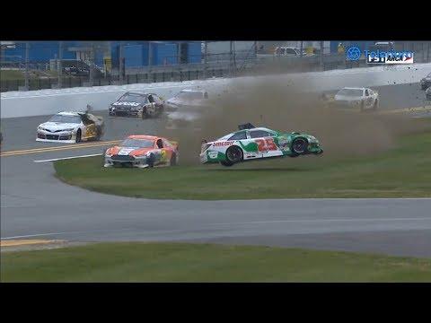 ARCA Menards Series 2019. Daytona International Speedway. Michael Self Big Off Spins