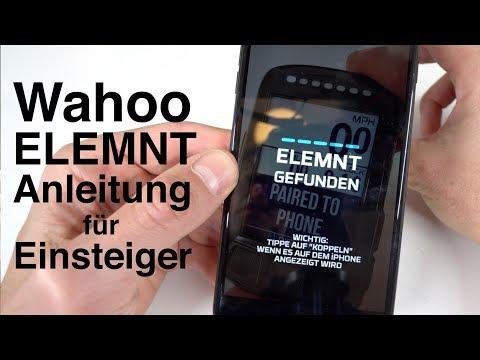 Wahoo Elemnt Bolt für Anfänger! Anleitung: App einrichten, Sensoren koppeln, Datenfelder,  Strava