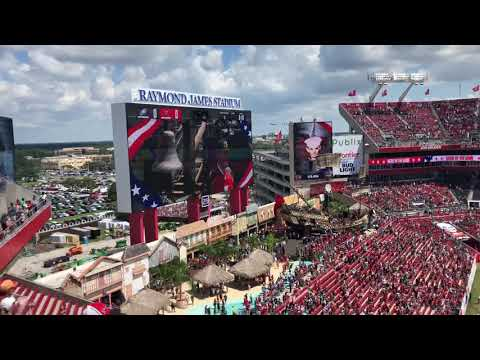 Tampa Bay Buccaneers Opening 9/16/18 vs Philadelphia Eagles