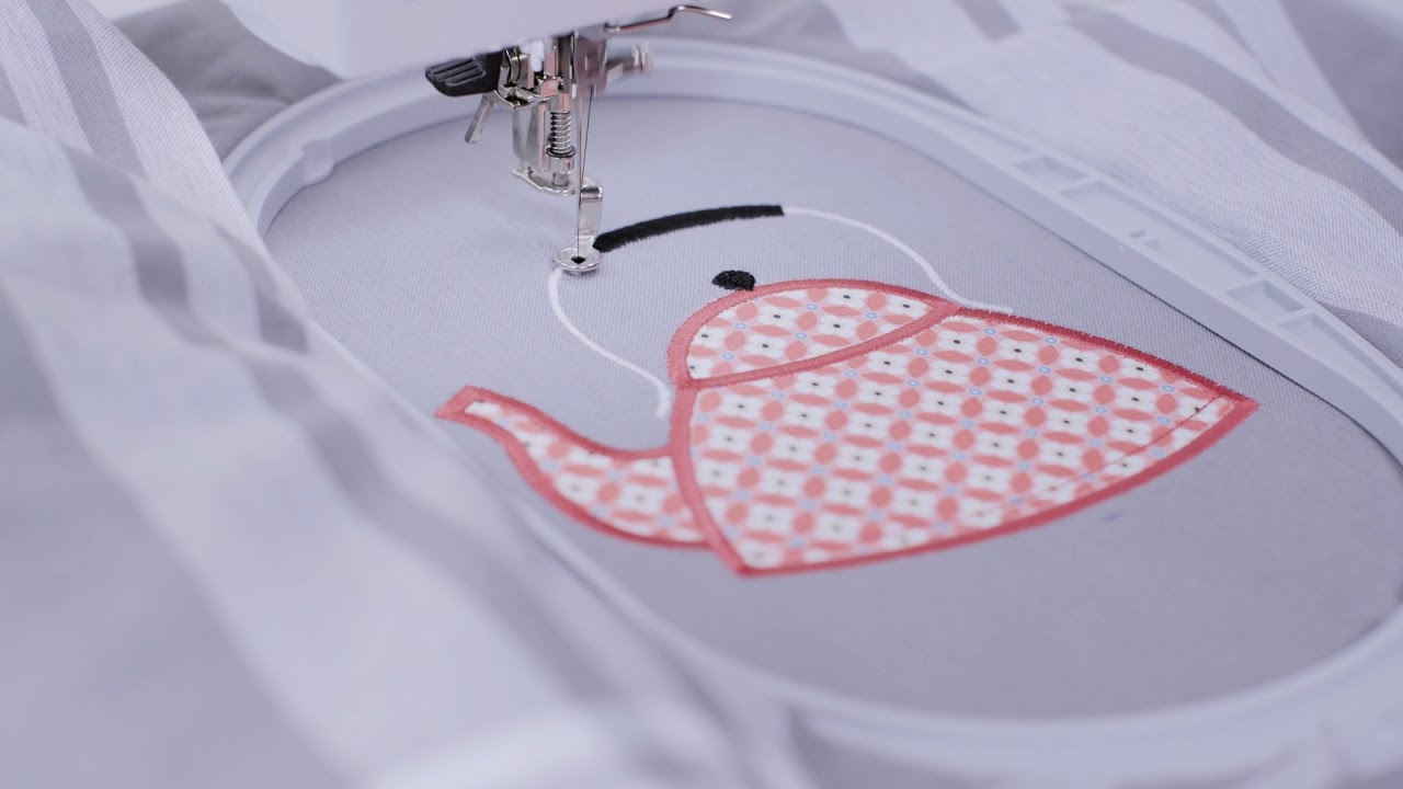 BERNINA Sticksoftware 8: Applikationen mit CutWork
