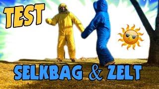 Selkbag Test & Grand Canyon Cardova Erfahrungen (50€ Zelt) ☗ Aufbau & Analyse der ersten Nacht!