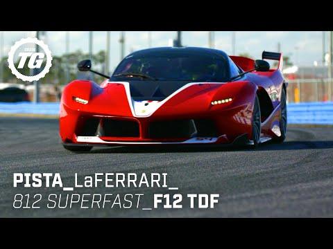 Chris Harris drives… Best of Ferrari: LaFerrari, 488 Pista, 812 Superfast, F12 TDF   Top Gear