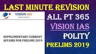 Vision Ias Pt365 Videos
