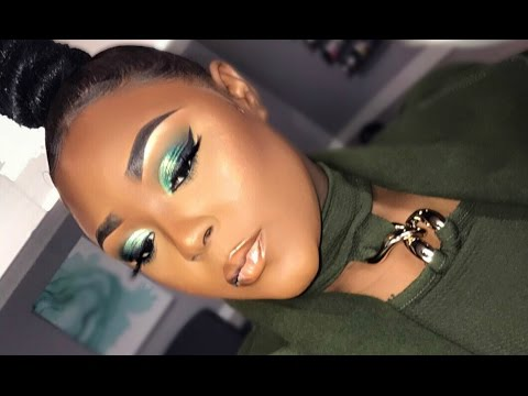 Makeup For Darkskin Women || Natural Under Eye || Juvias Place Palettes