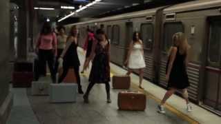"""Flash Mob 1/23/13- """"Suitcase"""" by Emili Sandé"""