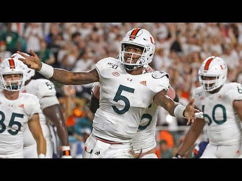 UM quarterback N'Kosi Perry  talks about what went right during win over Virginia
