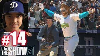 PLAYING LIL KERSH! | MLB The Show 21 | Diamond Dynasty #14
