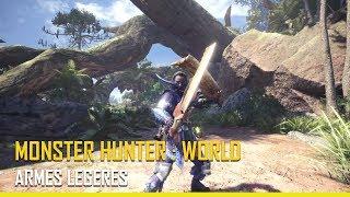 [Monster Hunter: World ] - Les armes légères - PS4, XBOX ONE, PC