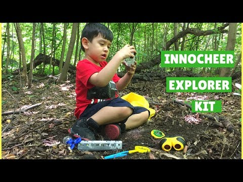 Innocheer Outdoor Explorer Kit For Kids Outdoor Adventure Toys For Camping Hiking Exploring