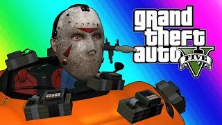 """GTA5 Online Funny Moments - """"Watch This"""" (RPG Vs. Fast and Furious)"""