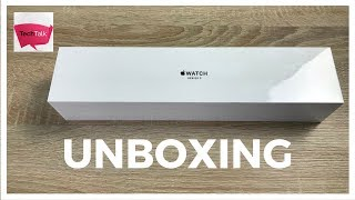 Apple Watch Series 3 GPS 42mm Space Grey Unboxing