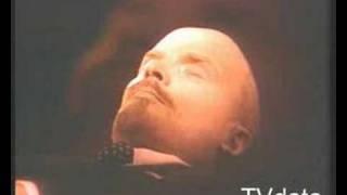 Lenin, cuerpo body of  Lenin en mousoleo, tomb in russia.