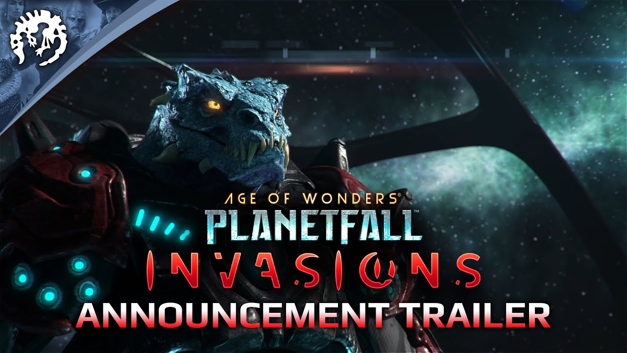 Трейлер игры Age of Wonders: Planetfall - Invasions