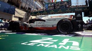 Porsche at Le Mans 2017.