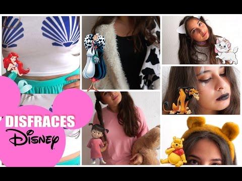 Ideas de disfraces de Disney de último minuto!♡