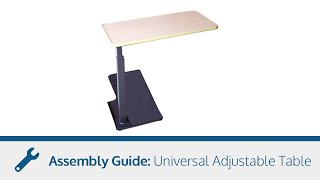 Adjustable Table - Assembly Guide