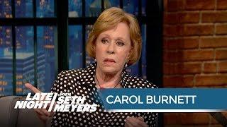 Carol Burnett's Annie On-Set Mishap - Late Night with Seth Meyers