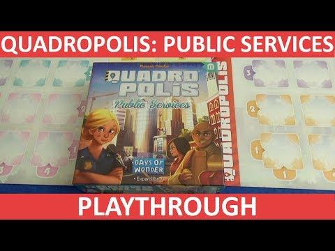 Quadropolis: Public Services - Playthrough