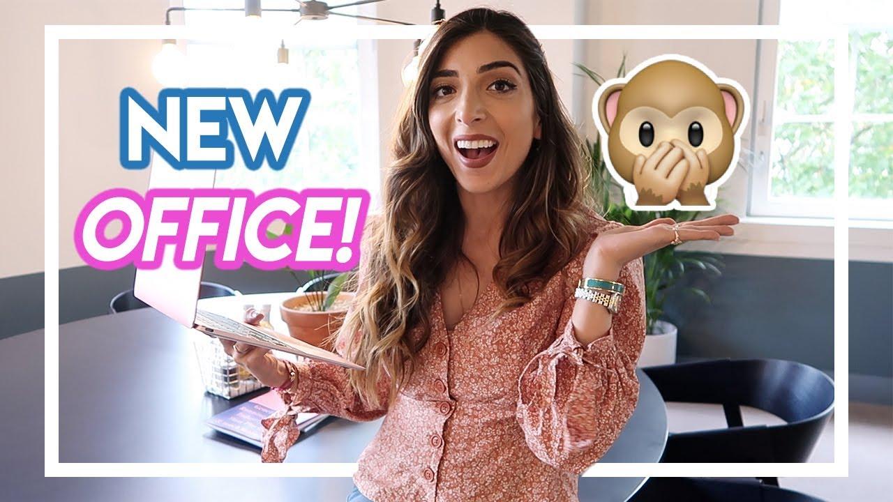 MY NEW OFFICE! (& tour!) | Amelia Liana