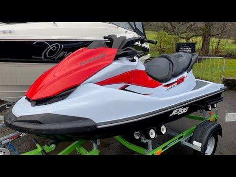 Kawasaki STX 160 video