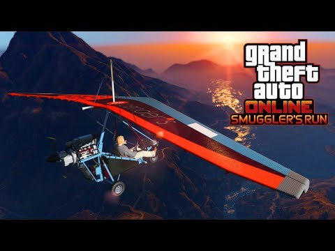 NEW GTA 5 Smuggler's Run DLC Update! Buying A Hanger & Ultralight Plane!
