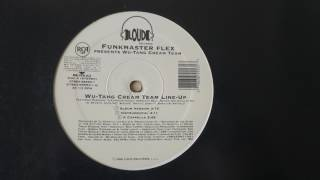 Funkmaster Flex - Wu-Tang Cream Team Line-Up (Merciless Mix) ft. The Wu-Tang Clan & The Harlem Hoodz