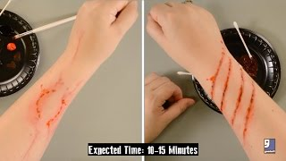 DIY Zombie Bites & Scratches Tutorial