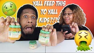 BABY FOOD 3 JARS IN 3 MINS EPIC EMPIRE CHALLENGE