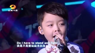 Bé Jeffery Li hát (Tell me why) cực đỉnh