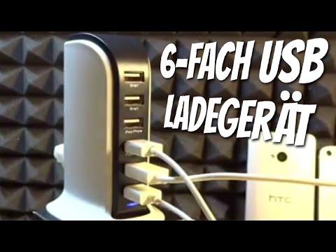 6-fach 8A USB Ladegerät mit iPower Technologie und tollem Design von KINKOO im Test / Review