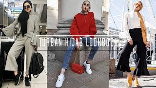 CASUAL OUTFIT IDEAS |  Turban Hijab Style !