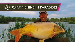 CARP FISHING IN PARADISE With Steve Briggs