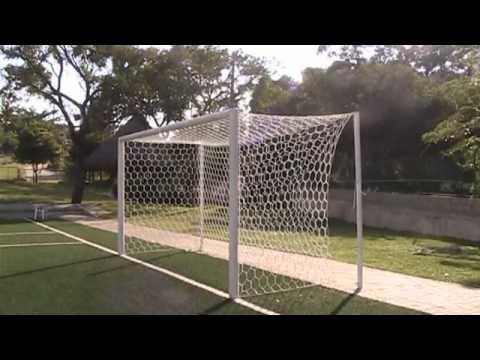 Red Hexagonal De Lujo Para Portería De Fútbol