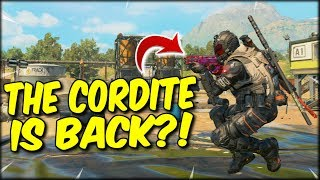 THE CORDITE DOESN'T SHOOT PEAS ANYMORE?! HIGH KILL COD BLACKOUT SOLO WIN WITH THE CORDITE!