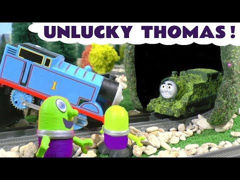 Thomas The Tank Engine game with Tom Moss and the funny Funlings - Fun toy train story for kids TT4U
